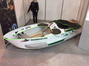 Divers Introduced MARINEKART Boat at Moscow Dive Show 2017