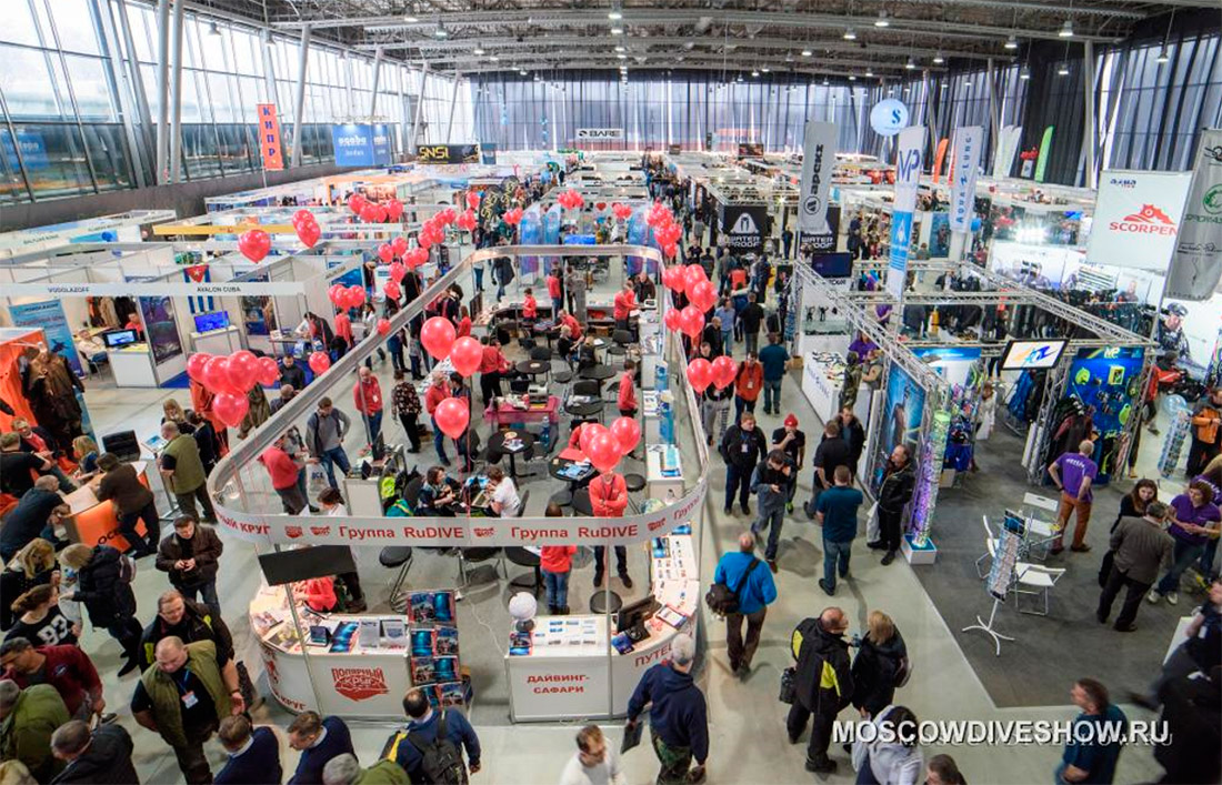 Events for businesses - Moscow Dive Show