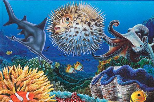 Детские книги на подводную тему