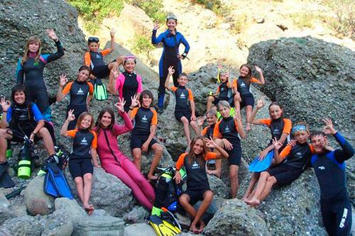 Детские лагеря с водными программами