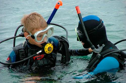 Обучение дайвингу и подводному плаванию