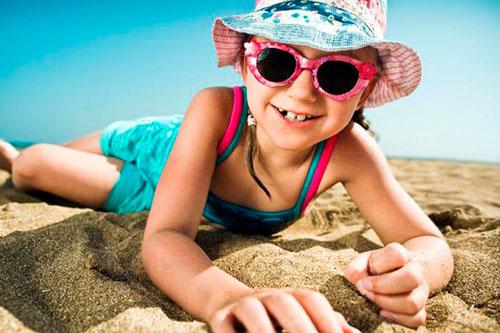 Солнцезащитная одежда для пляжа