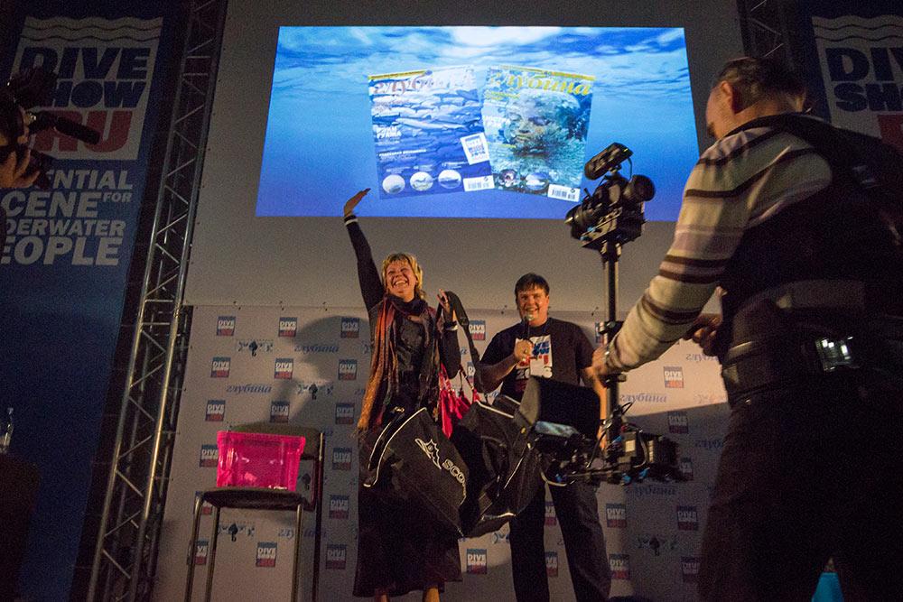 Большая подводная лотерея Moscow Dive Show 2017