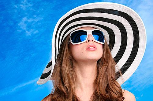 Солнцезащитные очки на Moscow Dive Show