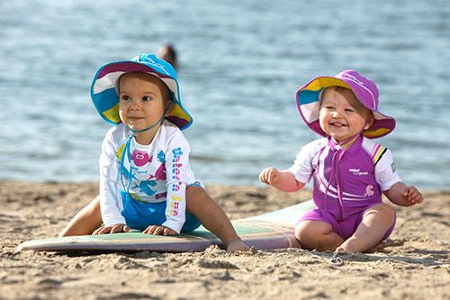 Солнцезащитные костюмы для детей