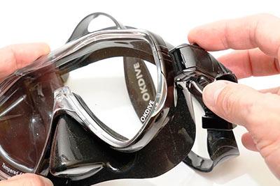 Моностекольная маска OKDIVE (3 шт.)