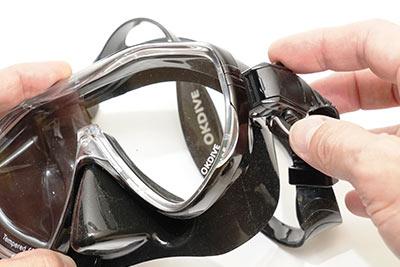 Моностекольная маска OKDIVE