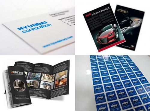 Листовки, буклеты, визитки