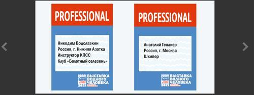 Регистрация бейджей PROFESSIONAL