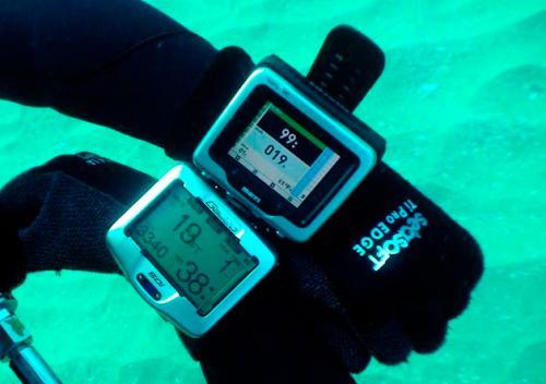 Подводные часы, компьютеры