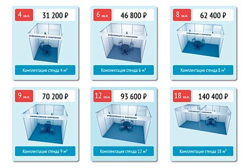 Цены и стенды
