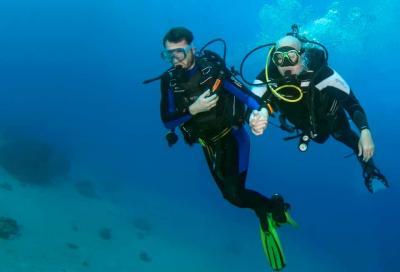 Что видит незрячий дайвер под водой?