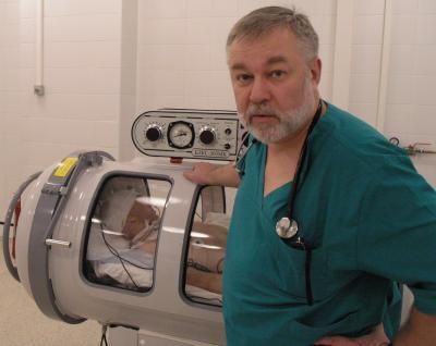 Водолазная медицина в ГКБ имени Боткина – для чего, что может, что видела
