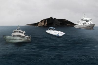 Сафарийная флотилия на тихоокеанском побережье Мексики