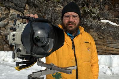 Живущие подо льдом. Художественная подводная съемка на Белом море