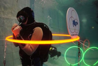 Удивительные подводные игры. Скубатлон