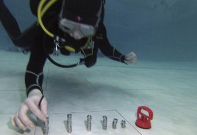 Удивительные подводные игры. Подводная башня