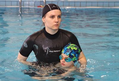 Занятия, соревнования и праздники в детской школе по плаванию Aqua Family