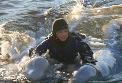Беломорье подводное и надводное в путешествии на «Полярный круг»