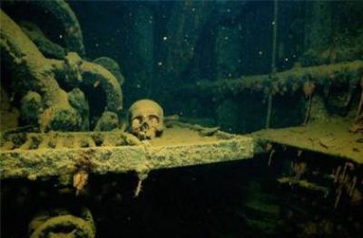 Трук - лагуна погибших кораблей