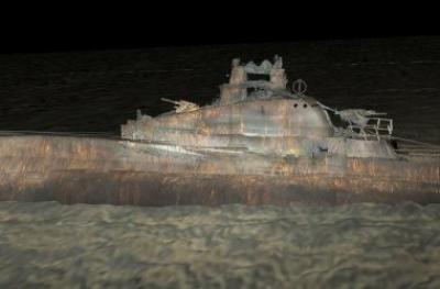 Мастер-класс: фотосъёмка затонувших объектов на Балтике, примеры создания 3D моделей