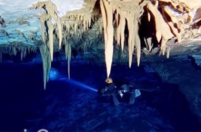 Пещерный час: Ребризер для спелео погружений