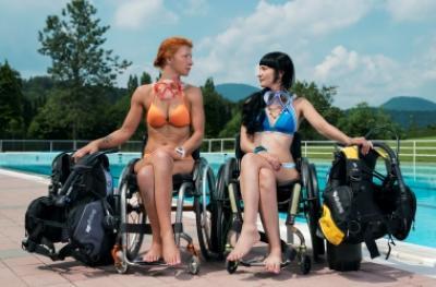 Инвалидность не приговор, особенности обучения парадайверов