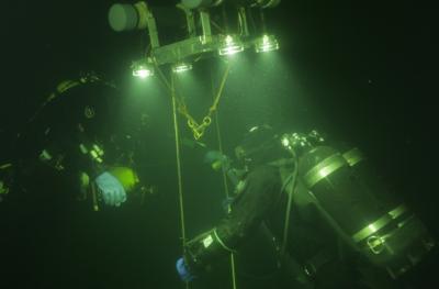 Съемка и создание 3D модели подводного объекта, на примере затонувших кораблей Финского залива