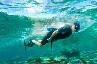 Подводный велосипед Sea Bike - крутите педали и вперед!
