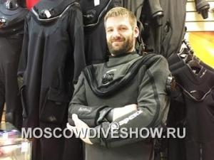 OKDIVE to Present the Latest Apeks Kevlar Dry Suit at the Moscow Dive Show 2017