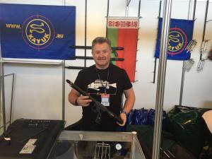 Kayuk Presents its Latest Products at Moscow Dive Show 2017