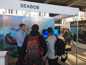 CAYAGO AG presents at Moscow Dive Show 2017 the Latest Makes of SEABOB F5 and F5 S – Water and Underwater Scooter, Fastest in the World