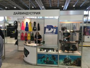 Diveindustria Presents its Latest Products at Moscow Dive Show 2017
