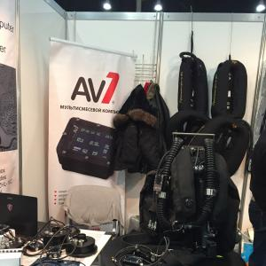 AV.UnderwaterTechnologies Presents its Latest Products at Moscow Dive Show 2017