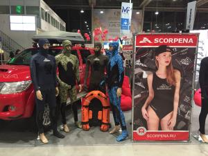 Scorpena Presents its Latest Products at Moscow Dive Show 2017