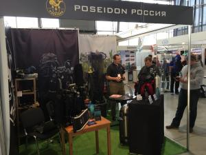 Poseidon Presents its New Products at Moscow Dive Show 2017