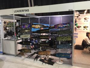 Leaderfins Presents its Updated Line of Products at Moscow Dive Show 2017