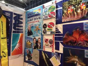 Russian Branch of the NAUI Diving School Presented at Moscow Dive Show 2017