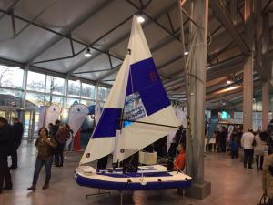 Debut of Windglider SKAT at Moscow Dive Show 2017