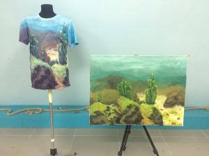 Dive into art!