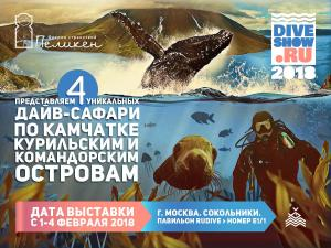 Peliken at Moscow Dive Show-2018
