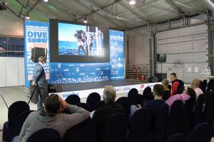 One important report at Moscow Dive Show