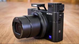 Новая камера SonyCyber-shotRX100 VI на Moscow Dive Show 2019