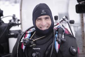 Ахмед Габр на Moscow Dive Show-2019