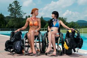 Лучшая практика. Дайвинг для людей с инвалидностью.