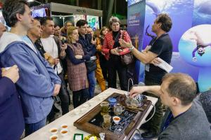 Moscow Dive Show 2020 - афиша мероприятий на 9 февраля (воскресенье) - день фридайвинга и подводной фотографии.