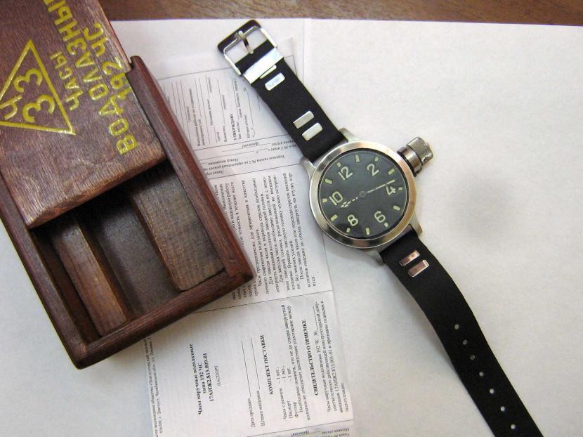 Легендарные водолазные Златоустовские часы когда-то были спутниками почти каждого водолаза ВМФ СССР