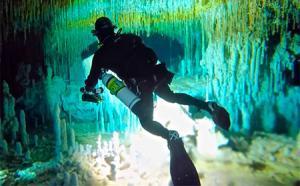 Unique caves of Spain.