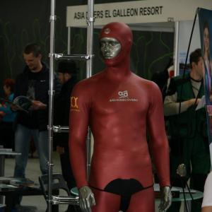 Мужской гламур на Moscow Dive Show