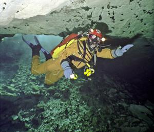Andrey Leonov the rescuer Mountain Search and Rescue Service of EMERCOM of Russia  and professional rescue-cave diver will be the speaker at the Conference on the Moscow Dive Show 2017